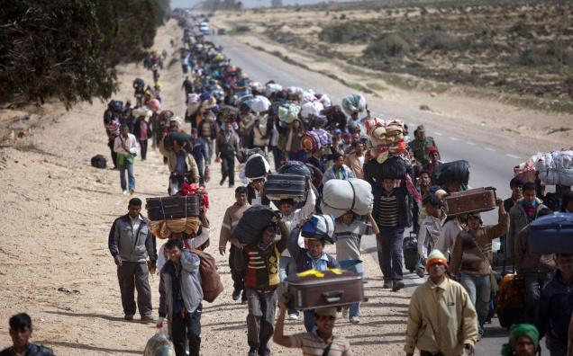 Loner Magazine - Refugee Crisis: How the West has failed in the Middle East