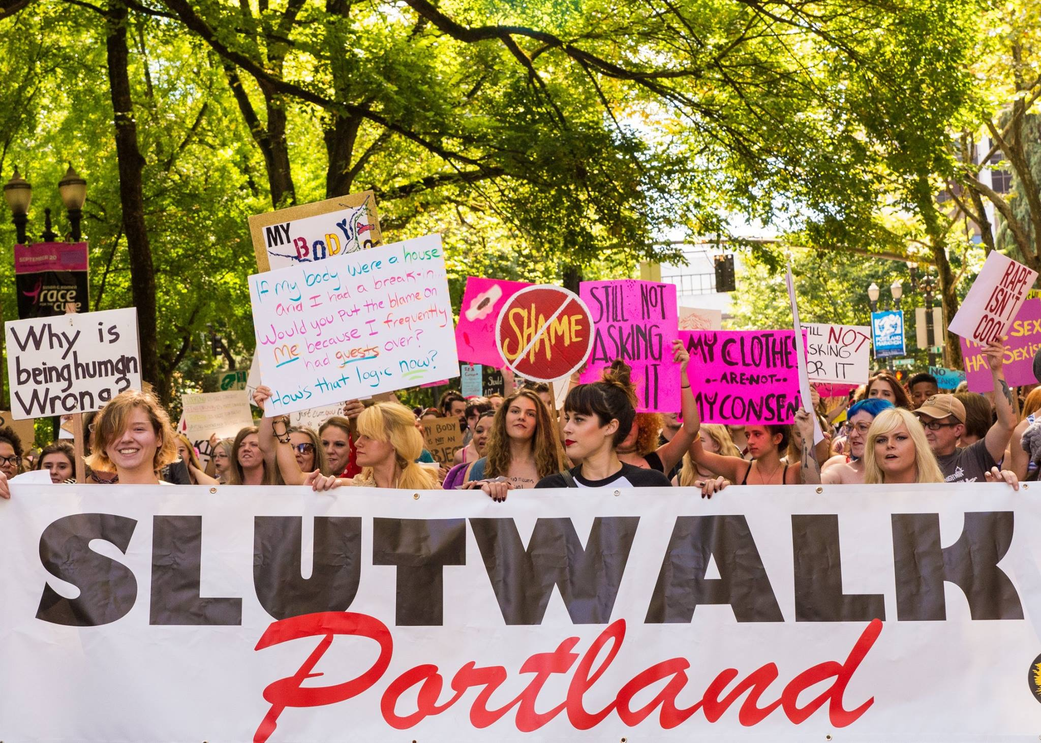 Loner Magazine - Portland SlutWalk: Respect can burn in hell